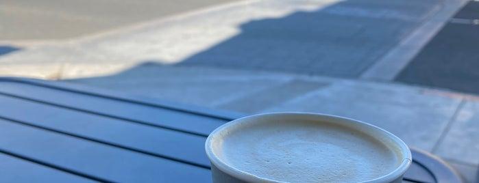 Steelhead Coffee (on Broadway) is one of Long Beach.