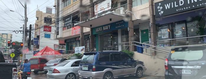 Army Navy Burger + Burrito is one of Orte, die Joyce gefallen.