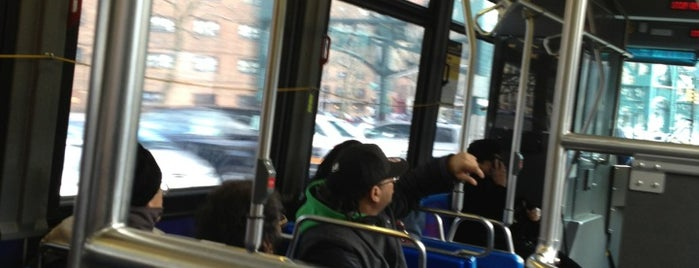 MTA Bus - Broadway & W 136 St (M4/M5/M11) is one of Zxavier's Adventures.