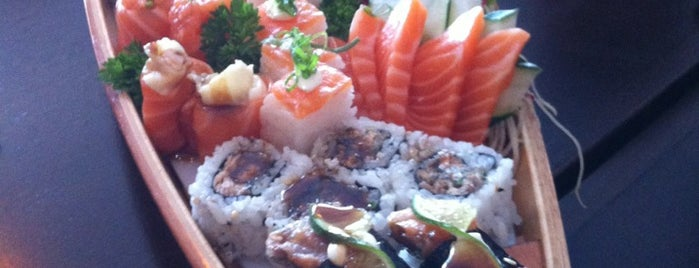 Kaishi Sushi is one of Locais curtidos por Vitoria.