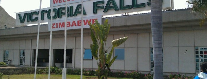 Victoria Falls Airport (VFA) is one of Airports.