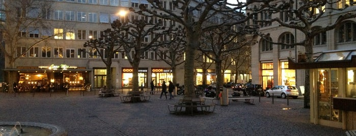 Werdmühleplatz is one of Zurich: business trip 2014-2015.