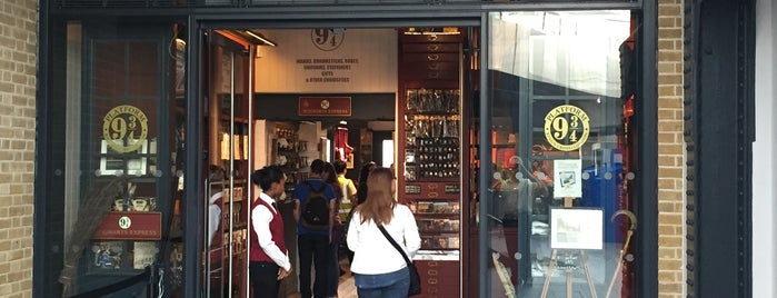 The Harry Potter Shop at Platform 9¾ is one of London, England.