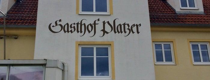 Flair Hotel Zum Schwarzen Reiter / Gasthof Platzer is one of สถานที่ที่ Metin ถูกใจ.