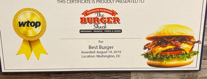 The Burger Shack is one of Locais curtidos por IS.