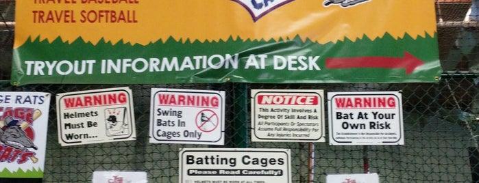 The Cage Batting Cages is one of Lieux qui ont plu à Richard.