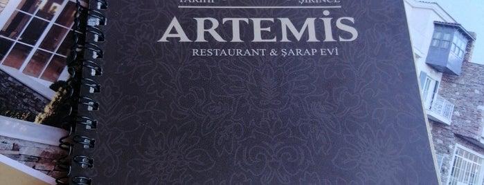 Artemis Restaurant & Şarap Evi is one of Veni Vidi Vici İzmir 1.