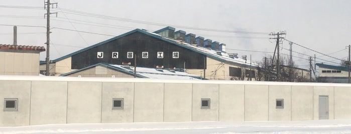 JR北海道 苗穂工場 is one of JRの総合車両センター・工場.