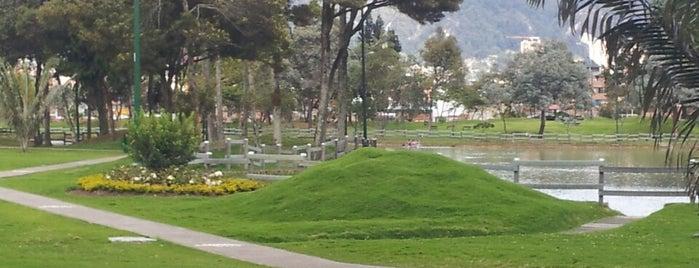Parque El Lago is one of Bogotá.