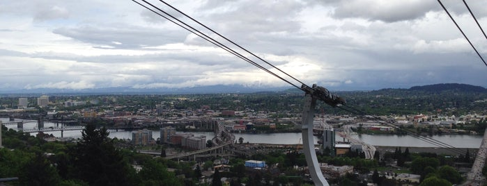 Portland Aerial Tram - Lower Terminal is one of Oregon and Washington faves and to-do.