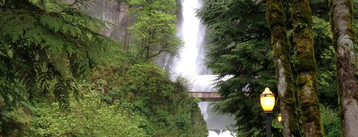 Multnomah Falls is one of Oregon and Washington faves and to-do.