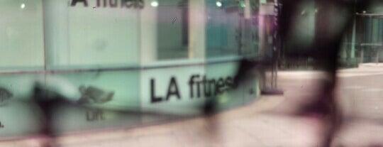 LA Fitness is one of Orte, die Ziad🇬🇧 gefallen.