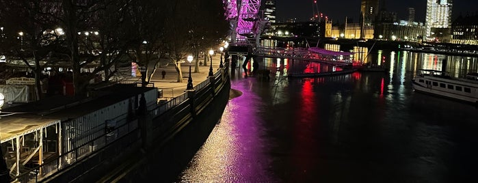 London Eye / Waterloo Pier is one of UK & Ireland.