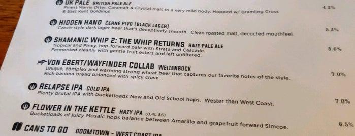 Wayfinder Beer is one of USA.