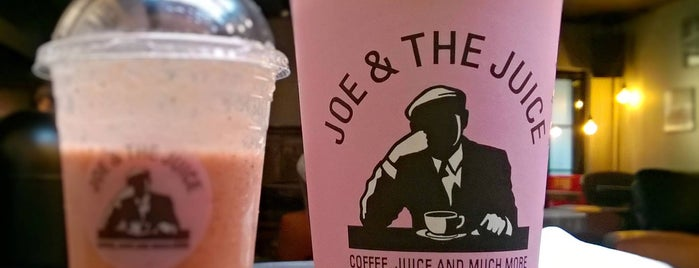 JOE & THE JUICE is one of Best of London.