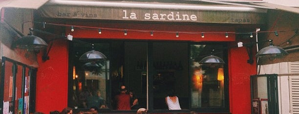 La Sardine is one of Paris Per Manger.