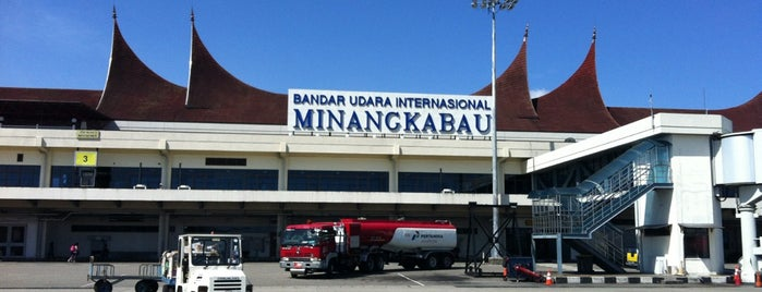 Minangkabau International Airport (PDG) is one of My Places :).