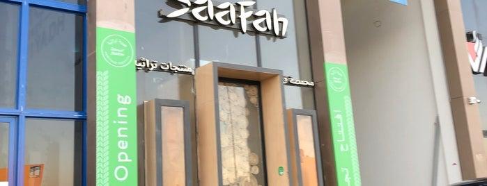 Saafah Cafe is one of Lugares guardados de Queen.