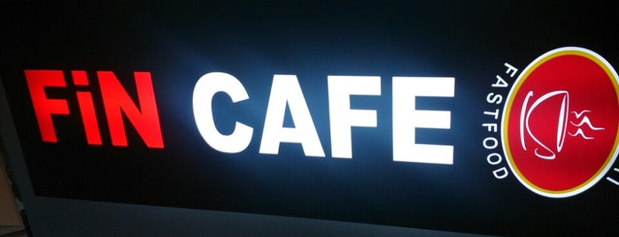 Fin Cafe is one of Locais curtidos por ArkınSuat.