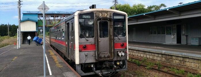Horonobe Station is one of JR 홋카이도역 (JR 北海道地方の駅).