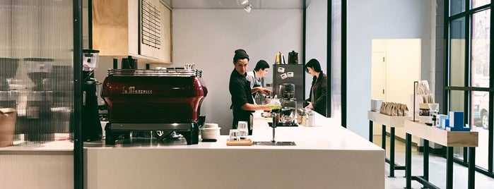 Blue Bottle Coffee is one of NYC 2017.