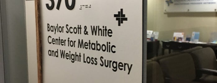 Baylor Scott & White Center For Metabolic And Weight Loss Surgery is one of Posti che sono piaciuti a Erica.
