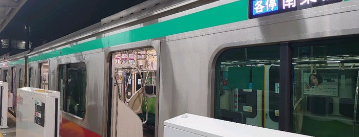 Tokyu Platforms 5-6 is one of สถานที่ที่ Shinichi ถูกใจ.