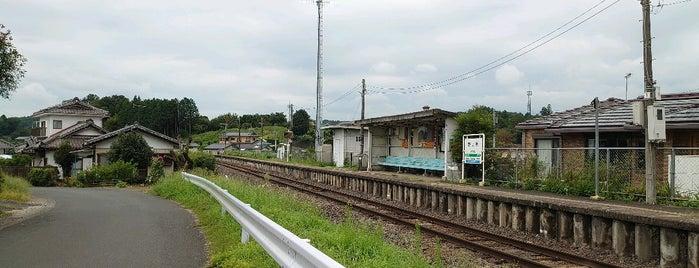 Nogamihara Station is one of JR 키타칸토지방역 (JR 北関東地方の駅).