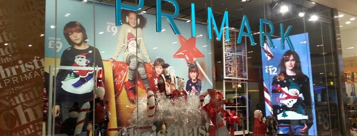 Primark is one of shopping.