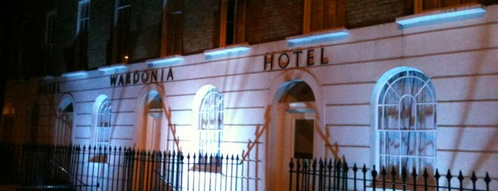 Wardonia Hotel is one of London.