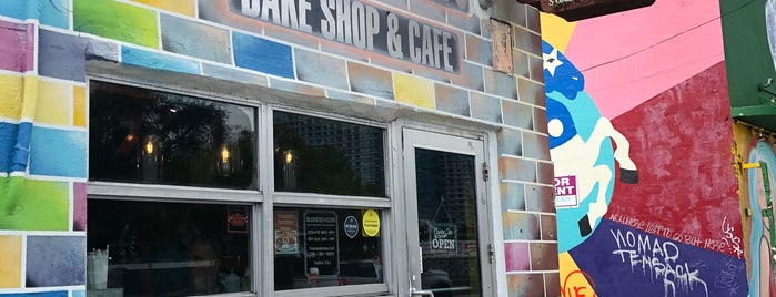 Fireman Derek's Bake Shop & Cafe is one of Art deco - miami.