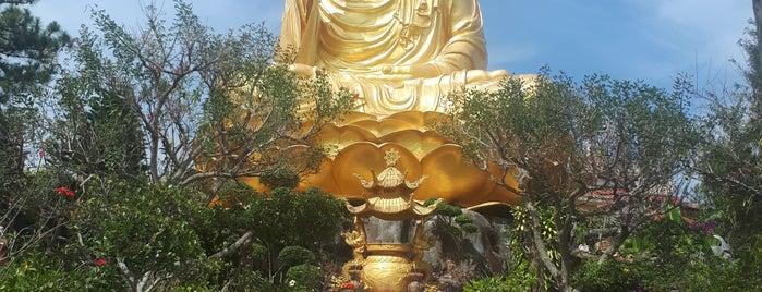 Golden Buddha Pagoda is one of Da Lat.