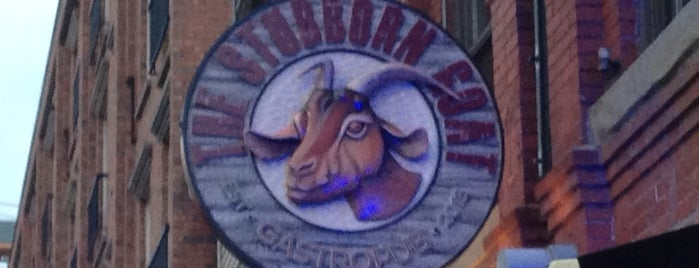 The Stubborn Goat Gastropub is one of Halifax.