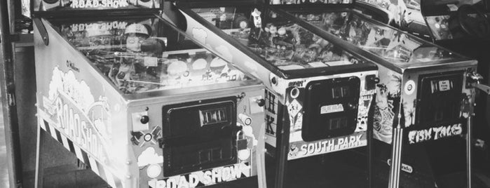 BrainWash Cafe & Laundromat is one of Pinball Wizards of the World, Unite and Take Over.