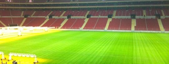 Türk Telekom Stadyumu is one of Mücevher.