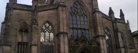 St. Giles' Cathedral is one of Scotland.
