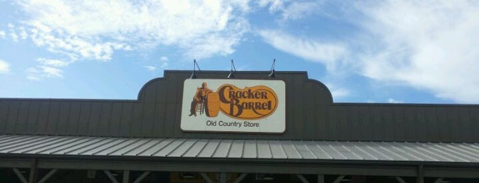 Cracker Barrel Old Country Store is one of vacation time.