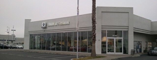 BMW of Fremont is one of The Bay.