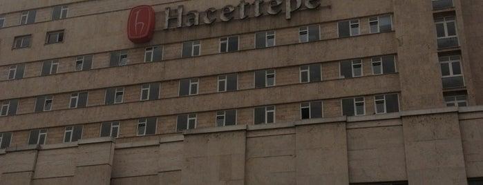 Hacettepe Üniversitesi Tıp Fakültesi Hastanesi is one of Posti che sono piaciuti a PINAR.