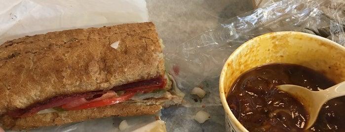 Potbelly Sandwich Shop is one of Amazon Campus (SLU) Lunch Spots.
