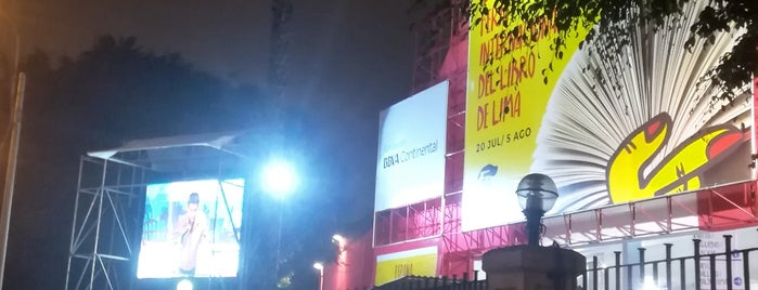 Feria Inter. del Libro - Lima 2017 is one of Locais curtidos por Sebastian.