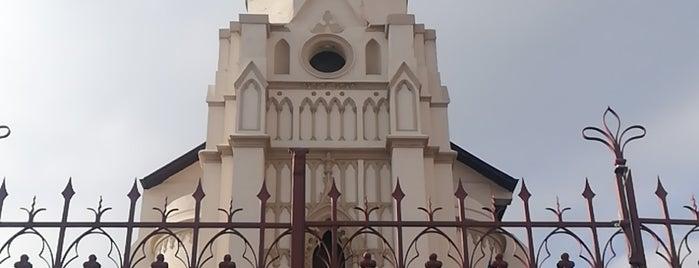 Iglesia Santa Filomena is one of Monumentos Nacionales.