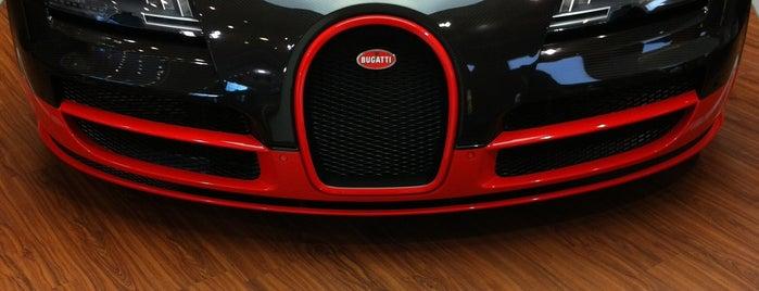 Bugatti is one of Berlin.