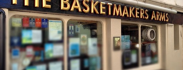 The Basketmakers Arms is one of Lugares guardados de Kevin.