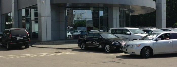 Lexus is one of «Коммерсантъ» в заведениях Москвы.