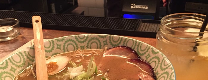 Koku Kitchen Ramen is one of key places.