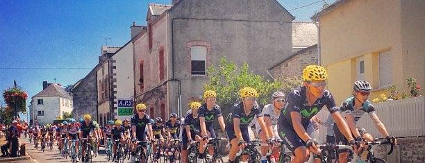 Saint-Gildas-des-Bois is one of Les étapes du Tour de France 2013.