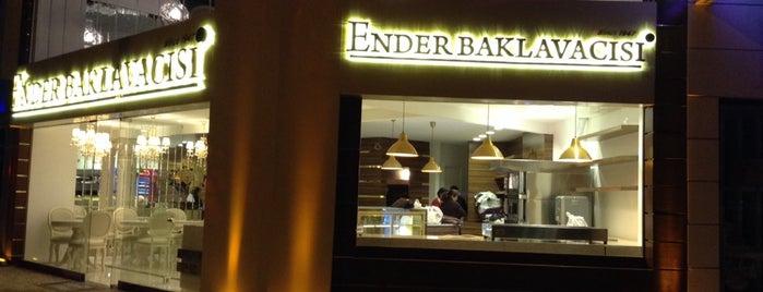Ender Baklavacısı is one of denemek gerek.