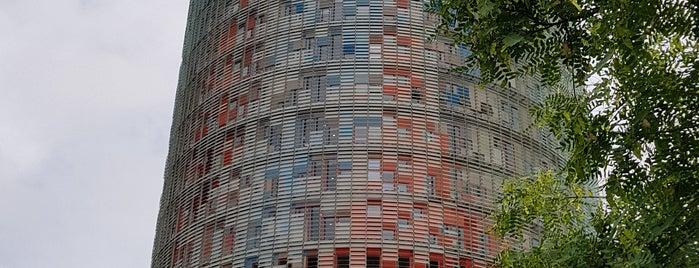 Torre Agbar is one of Tempat yang Disukai Paulo.