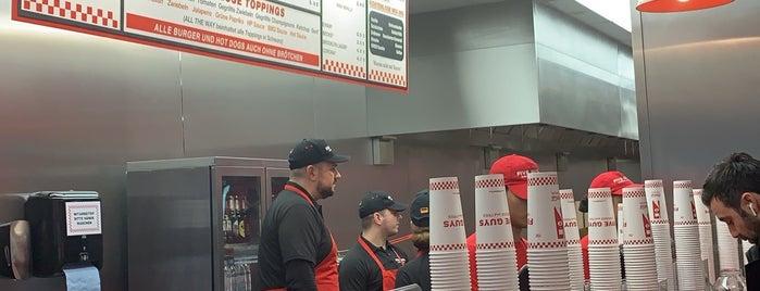 Five Guys is one of Frankfurter.